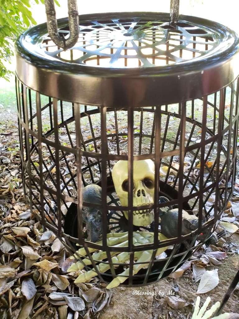 Creepy Cage DIY