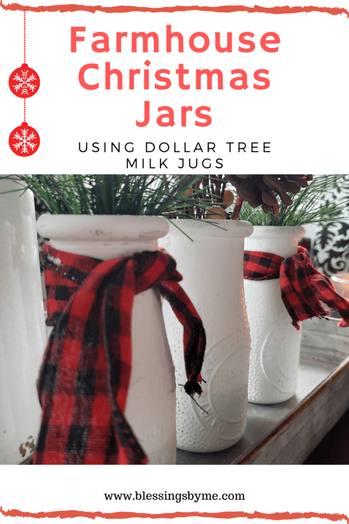 Farmhouse Christmas Jars PIn