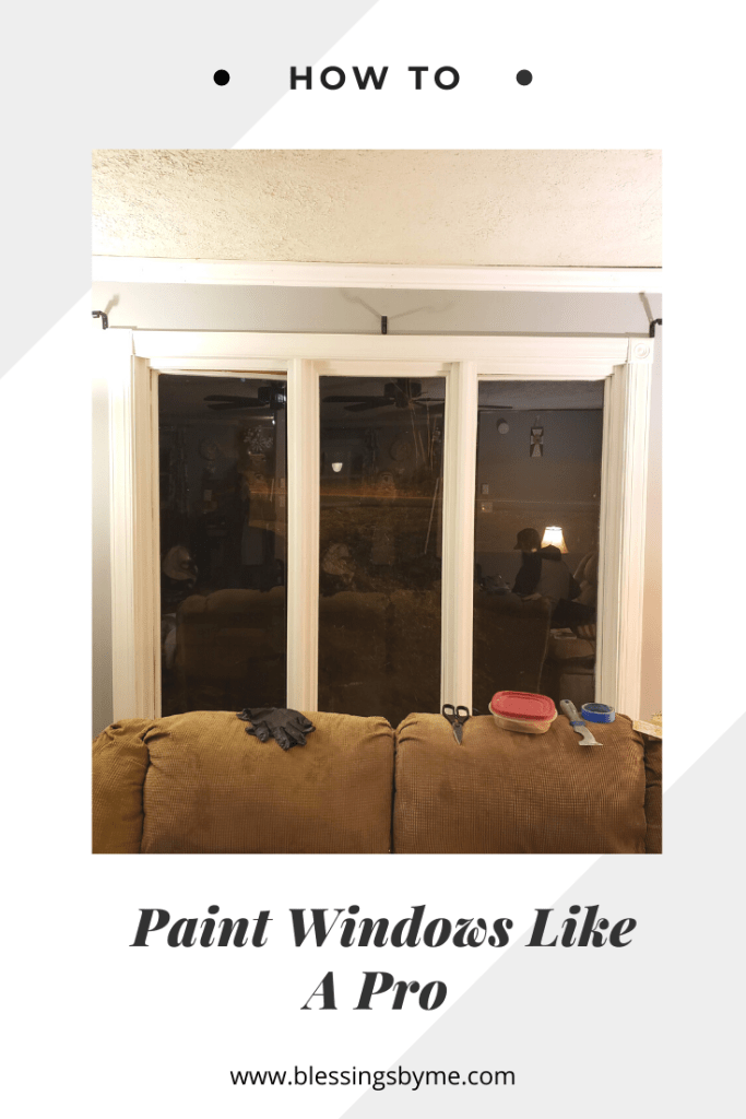 How to paint windows like a pro