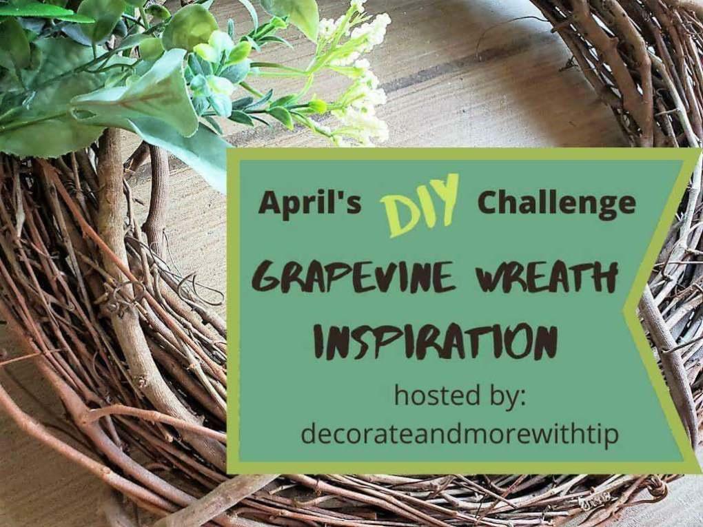 Grapevine Wreath Challenge