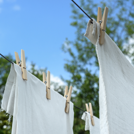 pretreating stains with baking soda