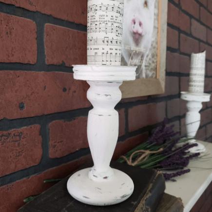 Farmhouse candle holders
