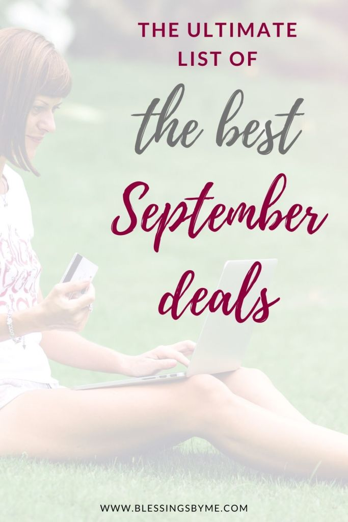 best things to buy in September