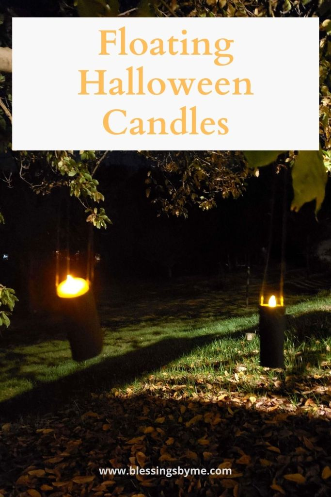 Floating Halloween Candles