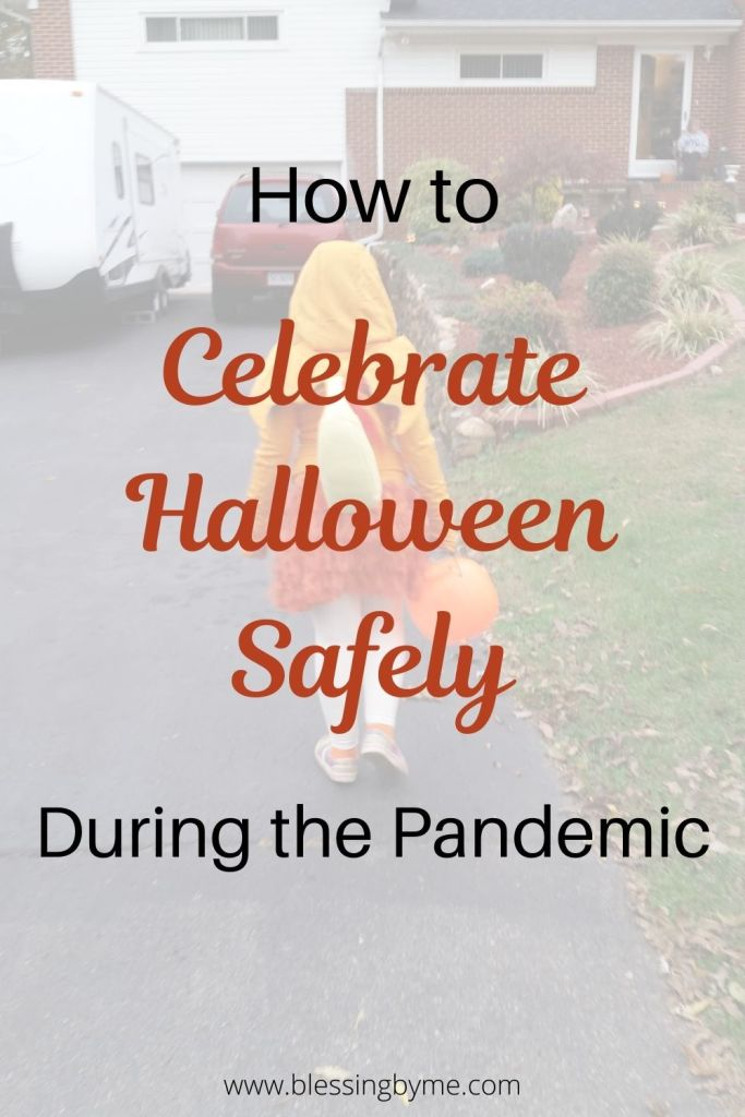 celebrate Halloween safely