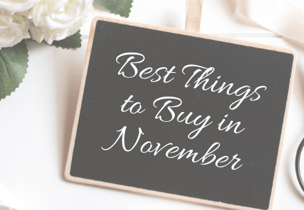 best things to buy in November
