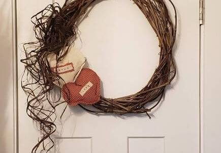simple grapevine wreath