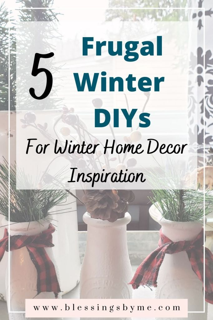 5 Frugal Winter DIYs