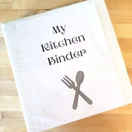 Kitchen Binder