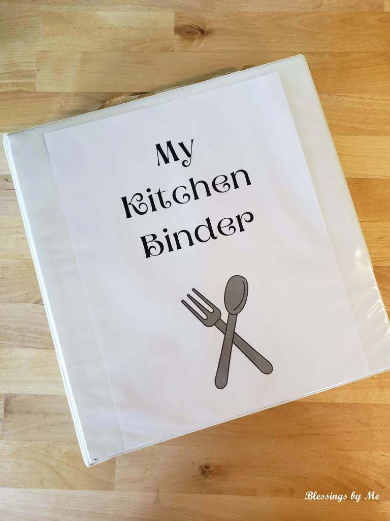 My Kitchen Binder