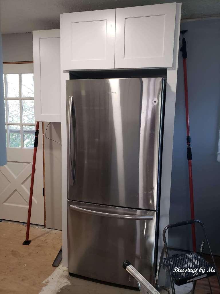 fridge cabinets