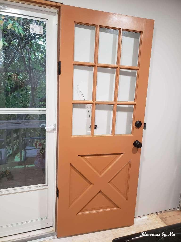 back door outside
