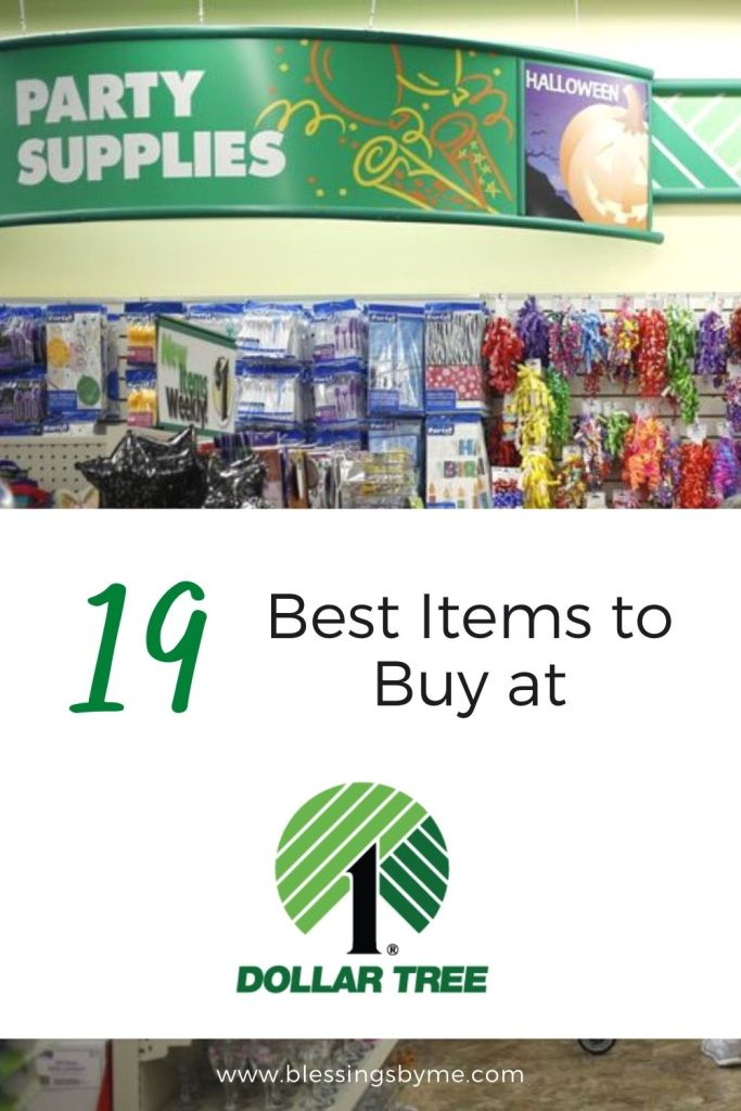 Best items to buy at Dollar Tree