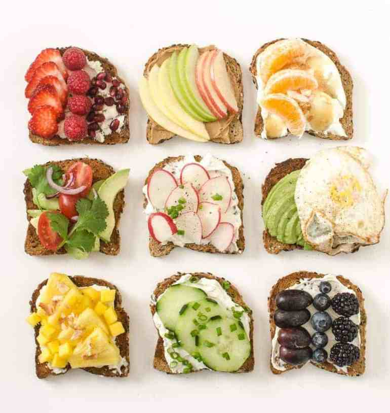 Image result for toast healthy