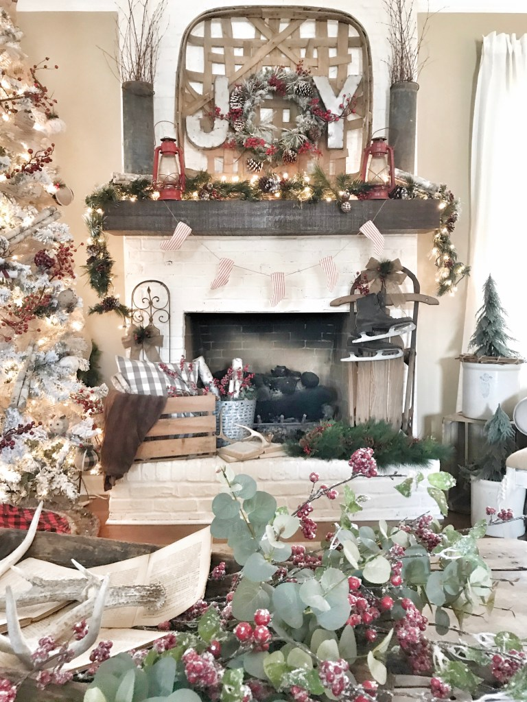 deck the blogs a christmas home tour bless this nest