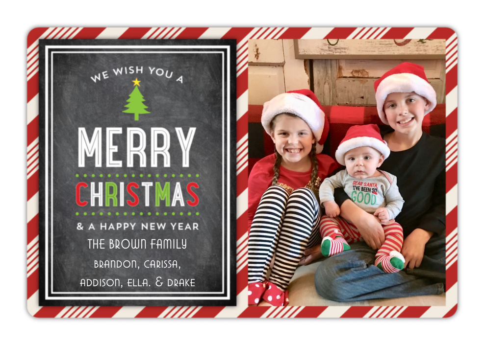 Our 2017 (Last Minute) Christmas Card | Bless This Nest