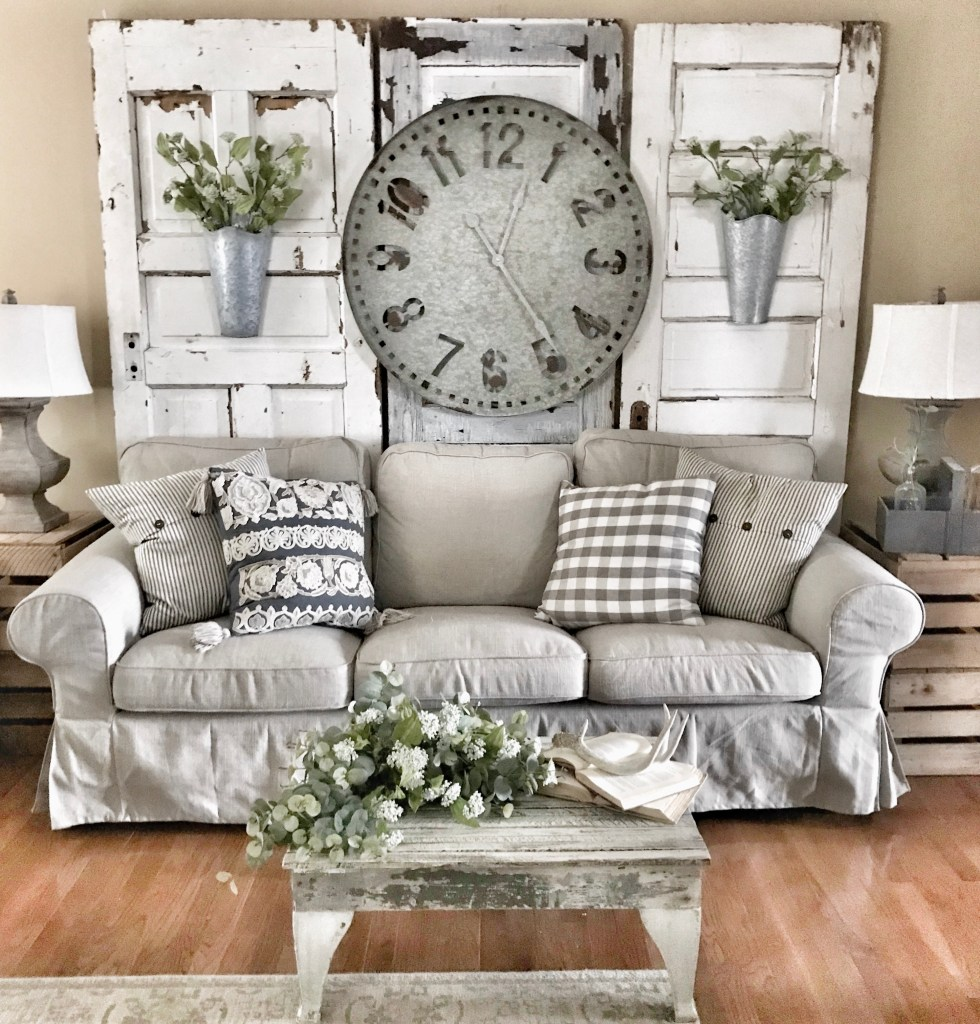 The Size Was Perfect And It Has Farmhouse Look That Matches My Living Room