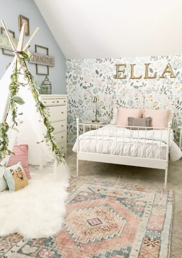 Little Girl Decor and Bedroom Reveal