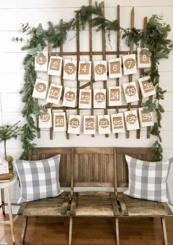 DIY Advent Calendar With Cricut
