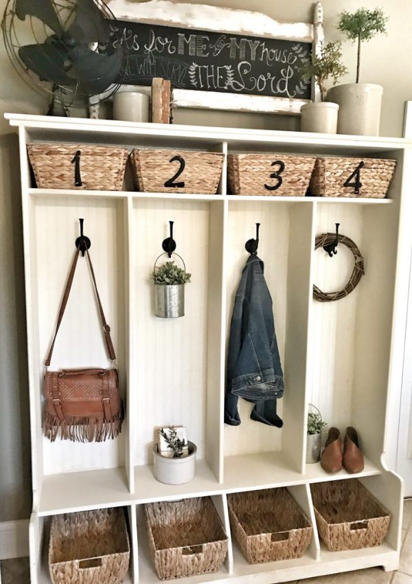 Summer Cubby Refresh and Basket DIY