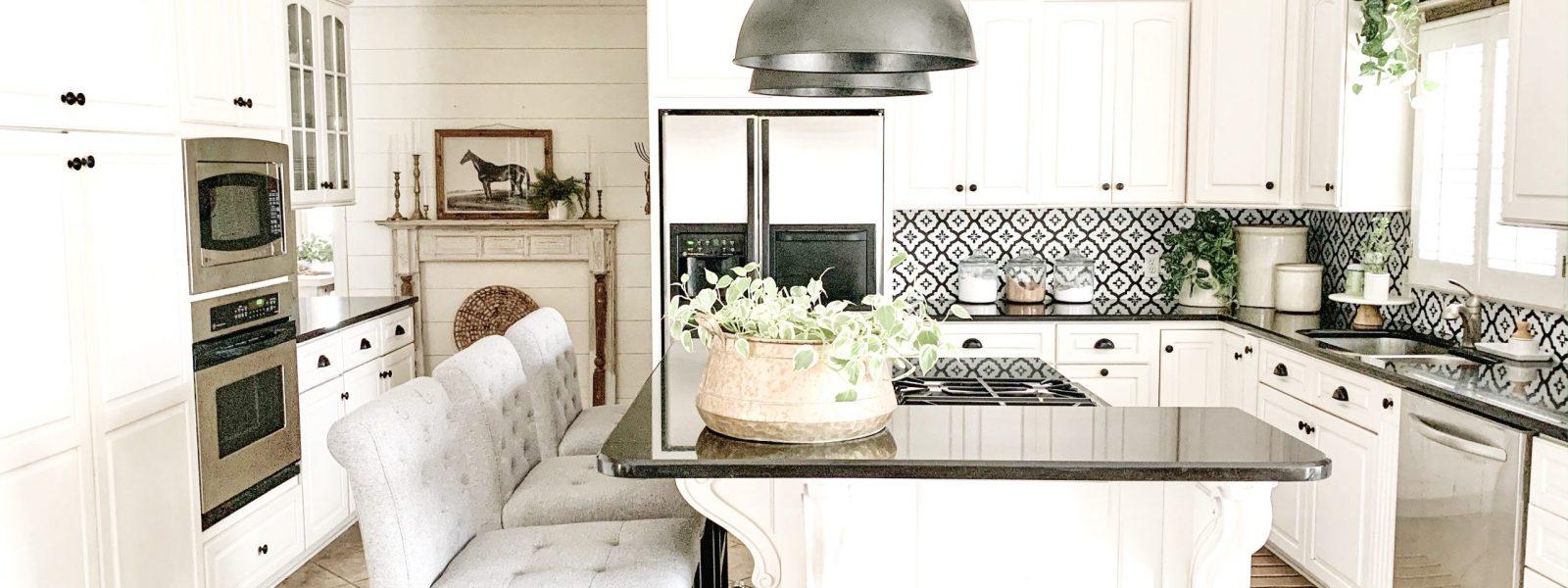 Kitchen Refresh Reveal- 3 Simple Ways to Refresh Your Kitchen