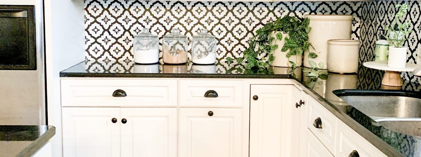 DIY Kitchen Backsplash On a Budget