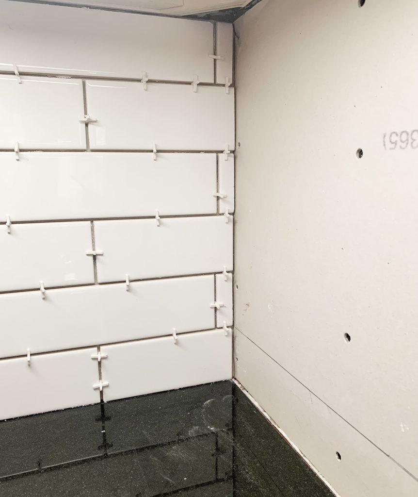subway tile backsplash diy for