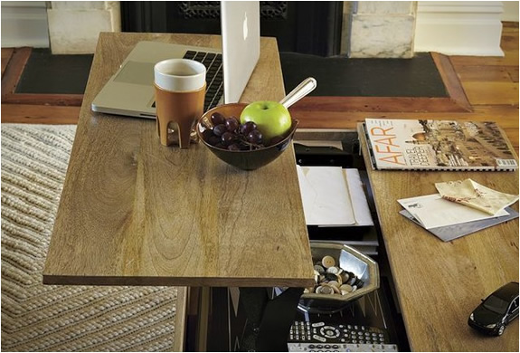 Small Coffee Table Storage