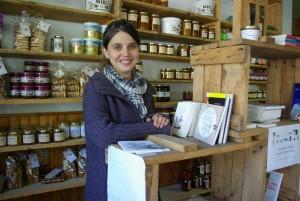 La fermière Orlane Auard vend ses produits bio