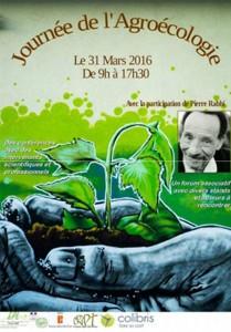 le programme de la journée sur l'agro-écologie