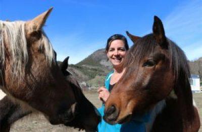 Marie et la passion des chevaux