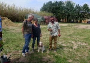 Allan Sorriaux et ses visiteurs