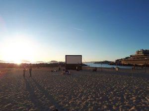 Projection du film le Grand Saphyr