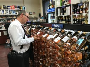 """Alain Baccino Vins de Provence Rosé bio à New-York, pour lui """"wine is biotiful"""""""