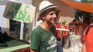 Johan Laflotte, référent pour Alternatiba 2018