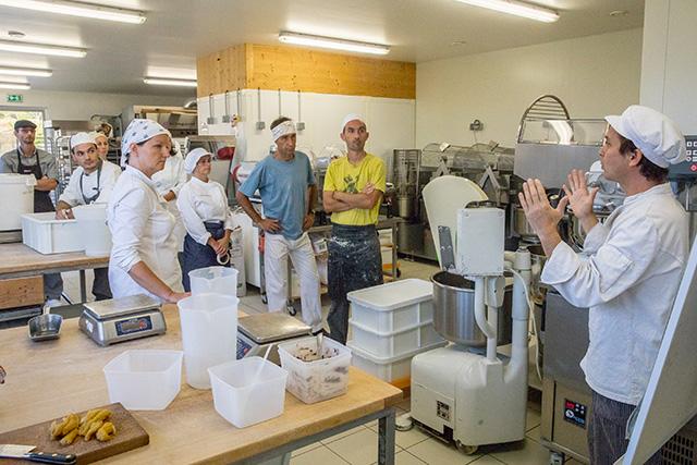 l'Ecole de boulangerie
