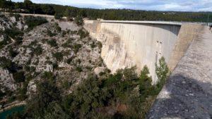 l'eau du barrage du Vimont