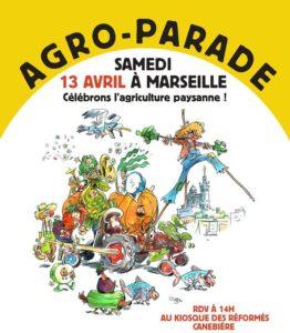 Agro-parade 2019 sur la Canebière