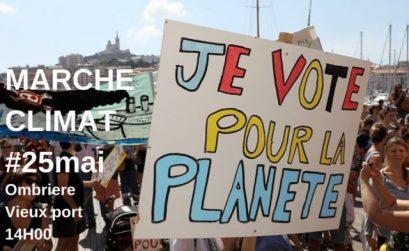 grève et manif climat Marseille