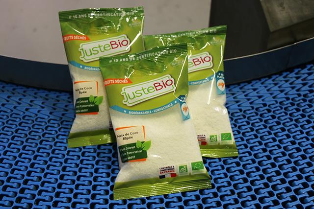 Juste Bio produits des légumes et fruits secs