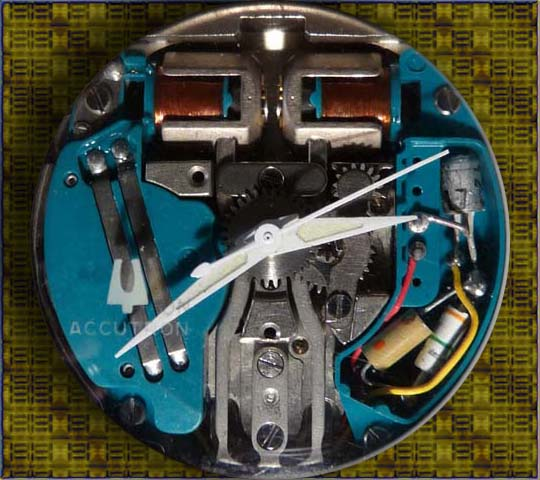 The Accutron Spaceview 214 Movement.