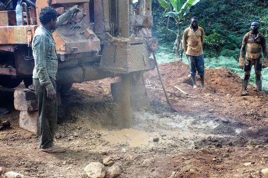 forage au Cameroun