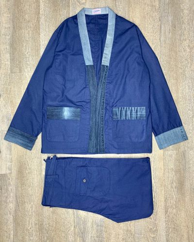 COSTUME BLEU DE CHINE ANTICHER x JAPAN SPIRIT