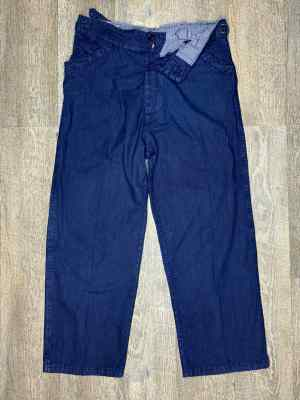 ANTICHER INDIGO PANTS WASHED-USED