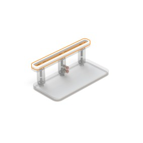 40 x 150 x 300 mm Suction Cup Top Seal by BLICK INDUSTRIES