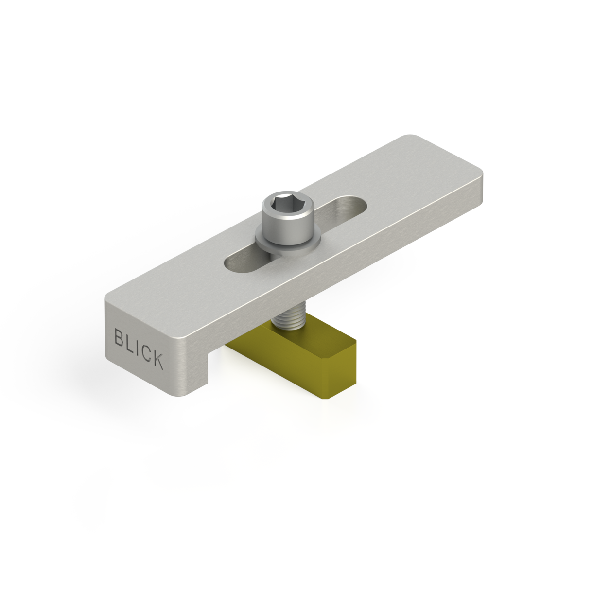 200 mm Slot Clamp for Breton slotted tables by BLICK INDUSTRIES