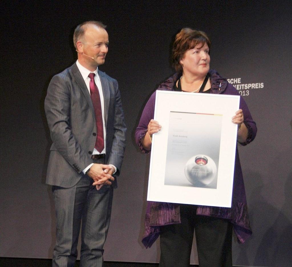 Arnsberg beim Deutschen Nachhaltigkeitspreis weit vorn