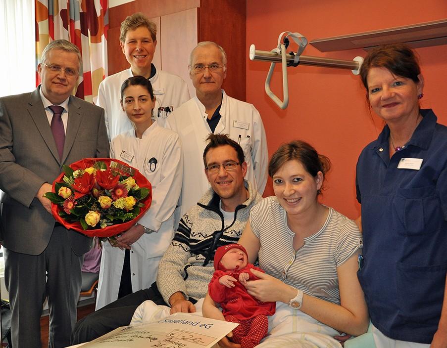 Willkommen Moana! – 1000. Geburt im Klinikum im Jahr 2013