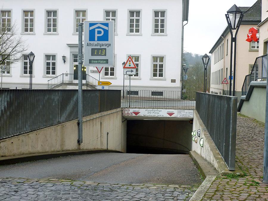 Sanierung der Altstadtgarage startet am 22. Januar