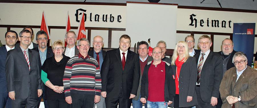 SPD wählt Mescheder Reinhard Brüggemann zum Landratskandidaten
